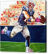 Julian Edelman Canvas Print