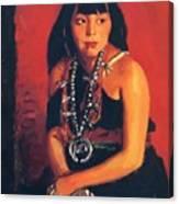 Julianita 1922 Canvas Print