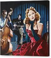 Julie London - Cry Me A River Canvas Print