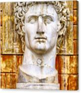 Julius Caesar At Vatican Museums 2 Canvas Print