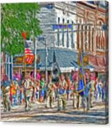 July 4th Color Guard Canvas Print