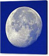 D6b6303-july 4th Moon 2015  Canvas Print