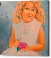 July - 50x69 Cm Canvas Print