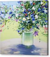 July Buquet Canvas Print
