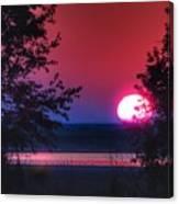 July Sunrise 1 Canvas Print