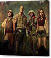 Jumanji Welcome To The Jungle 2.0 Canvas Print