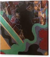 Jumbled Canvas Print