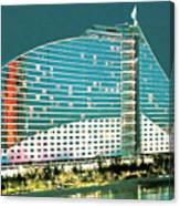 Jumeirah Beach Hotel Canvas Print