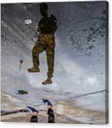 Jump Rotate Canvas Print