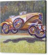 Jumpin Auburn Car Canvas Print