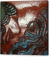 June - Tile Canvas Print