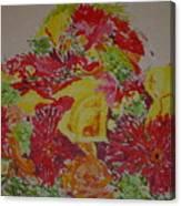 June Bouquet Canvas Print