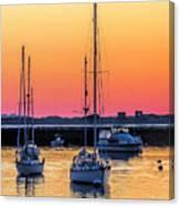 June Sunrise 506 Am Canvas Print