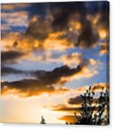 June Sunset Canvas Print
