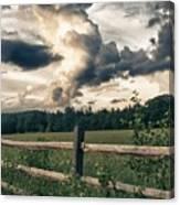 June Thunderstorms Along Connecticut River Canvas Print
