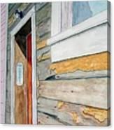 Juneau Townhouse Canvas Print