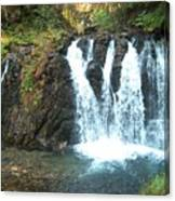 Juneau Waterfall Canvas Print