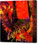Jungle At The Corner Of Concha And Laconia Canvas Print
