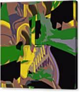 Jungle Dance IIi Of IIi Canvas Print