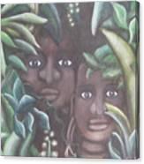 Jungle Depths Canvas Print