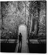 Jungle Entrance Canvas Print