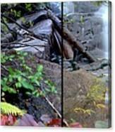 Jungle Falls Canvas Print