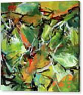 Jungle Green Canvas Print