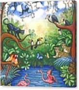 Jungle One Canvas Print
