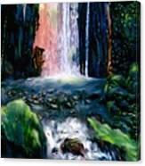 Jungle Pool Canvas Print