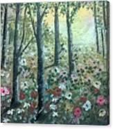 Jungle  Reflection Canvas Print