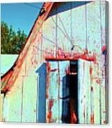 Junior's Barn Window Canvas Print