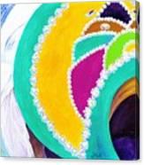 Junkanoo Hat Canvas Print