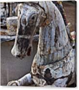 Junkyard Horse Canvas Print