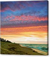 Juno Beach Florida Sunrise Seascape D7 Canvas Print