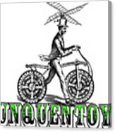 Junquentoys Bike-o-vator Canvas Print