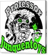 Junquentoys Circular Logo Canvas Print