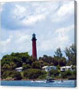 Jupiter Inlet Florida Canvas Print