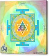 Jupiter Yantra Canvas Print