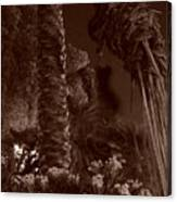 Juraissic Palm Number 1 Canvas Print