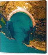 Jurassic Coast From The Air Canvas Print