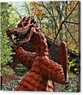 Jurustic Park - 3 Canvas Print