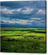 Just A Few Miles Away Canvas Print