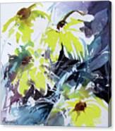 Just A Splash Of Yellow Canvas Print