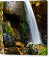Just A Very Small Waterfall II Canvas Print
