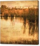 Just After Dawn Canvas Print