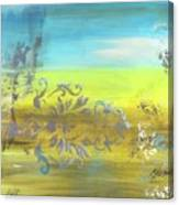 Just Another Damask In Paradise Canvas Print