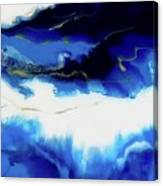 Just Blue Canvas Print