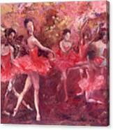 Just Dancing Canvas Print