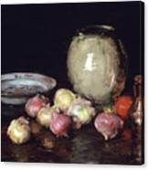 Just Onions, 1912 Canvas Print