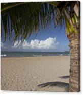 Just You And The Beach Canvas Print
